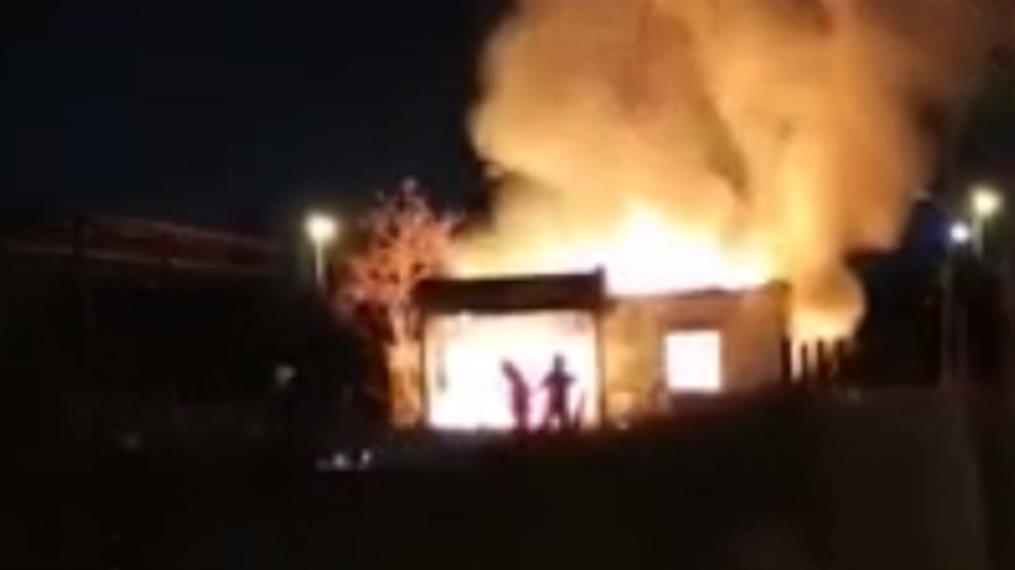 Φωτιά σε σπίτι στην Θεσσαλονίκη