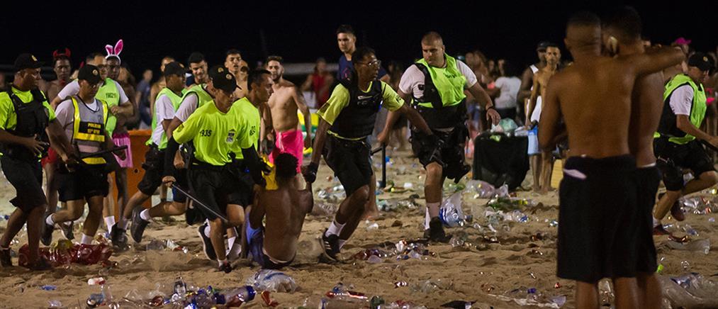 Βραζιλία: Με επεισόδια εγκαινιάστηκε το Καρναβάλι του Ρίο (εικόνες)