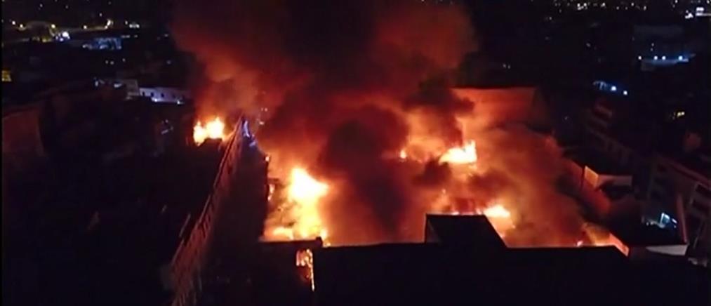 Παρανάλωμα του πυρός το εμπορικό κέντρο της Λίμα (βίντεο)