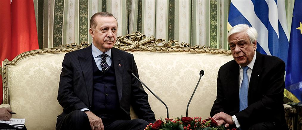 Παυλόπουλος σε Ερντογάν: Αδιαπραγμάτευτη η Συνθήκη της Λωζάννης