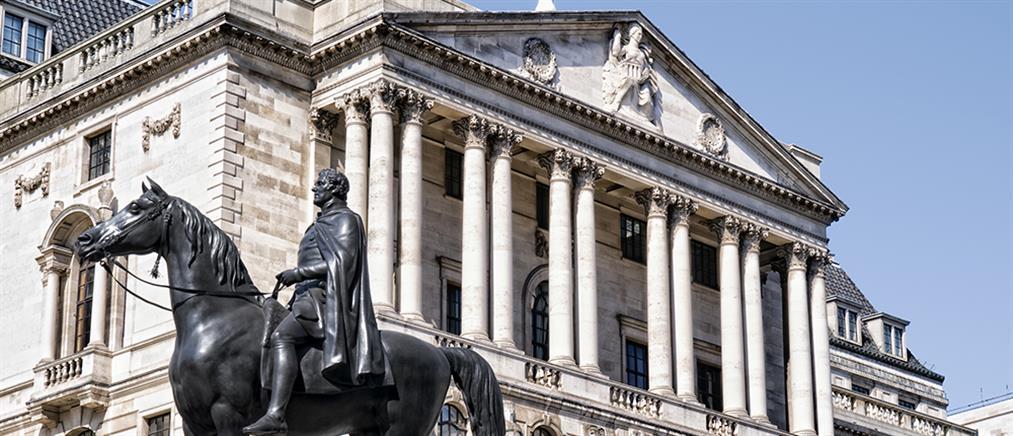 Τράπεζα της Αγγλίας: Επικίνδυνη η κατάσταση χωρίς δείγμα μετάδοσης