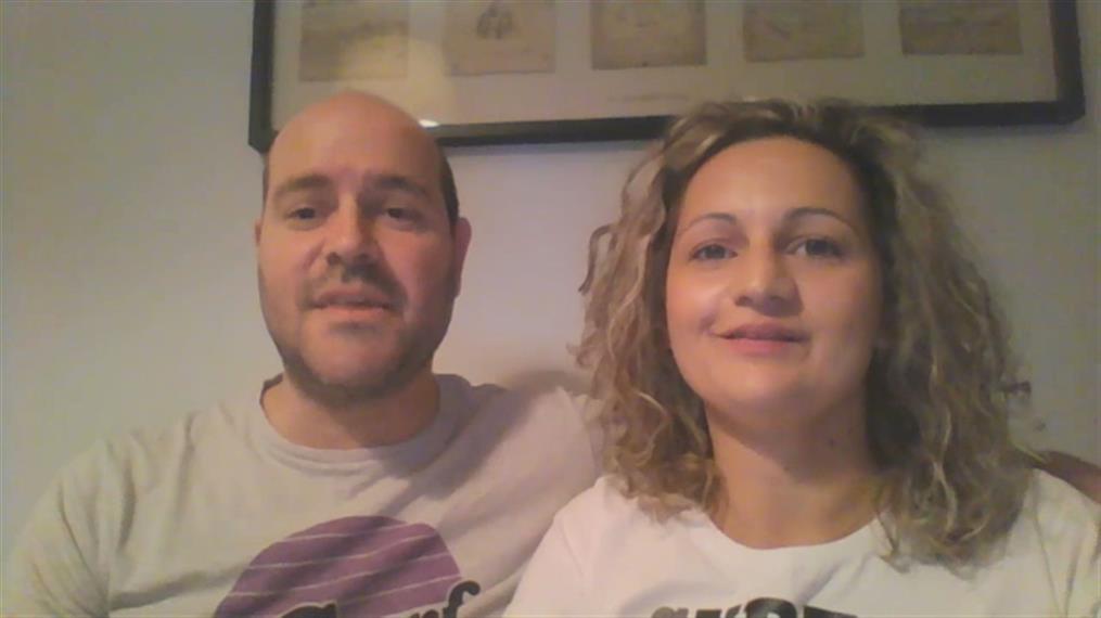 Βίντεο με τους γονείς του μικρού Παναγιώτη-Ραφαήλ