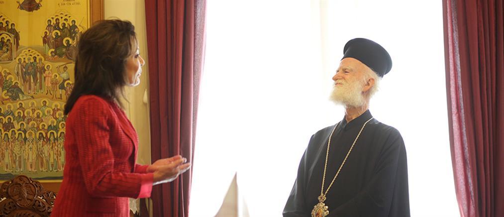 Αγγελοπούλου: H Κρήτη πάντα μετέδιδε τη φλόγα της αγάπης για την ελευθερία