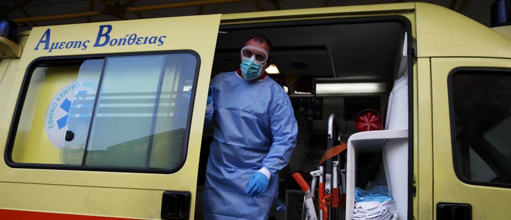 Διακομιδή θρίλερ ασθενούς: άλλαξε τρία ασθενοφόρα μέχρι να διασωληνωθεί