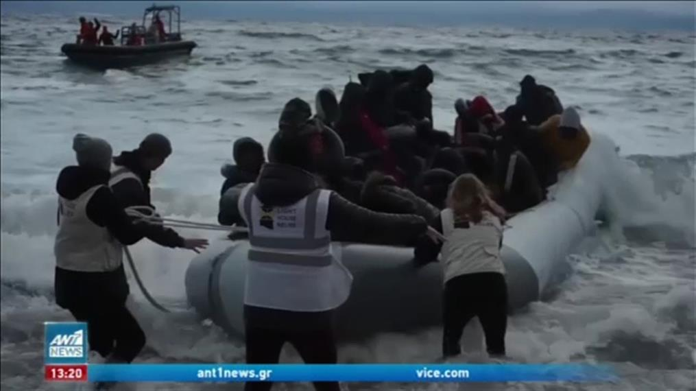 Κατακόρυφη μείωση των προσφυγικών ροών στην Ελλάδα