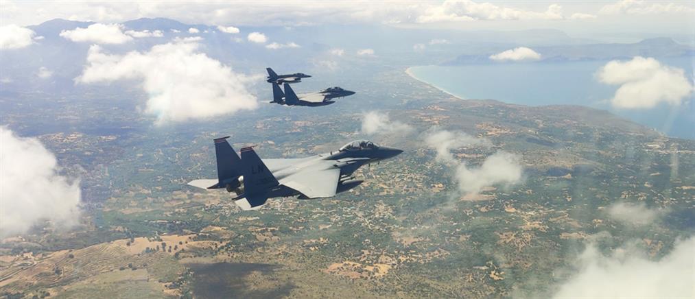 Poseidon's Rage: εντυπωσιακή η στρατιωτική συνεκπαίδευση Ελλάδας - ΗΠΑ (εικόνες)