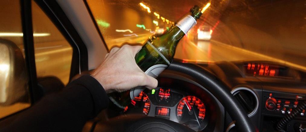 Στοιχεία – σοκ: Εκατοντάδες πιωμένοι οδηγοί το τριήμερο