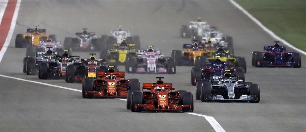 Θρίαμβος του Φέτελ στο Grand Prix του Μπαχρέιν