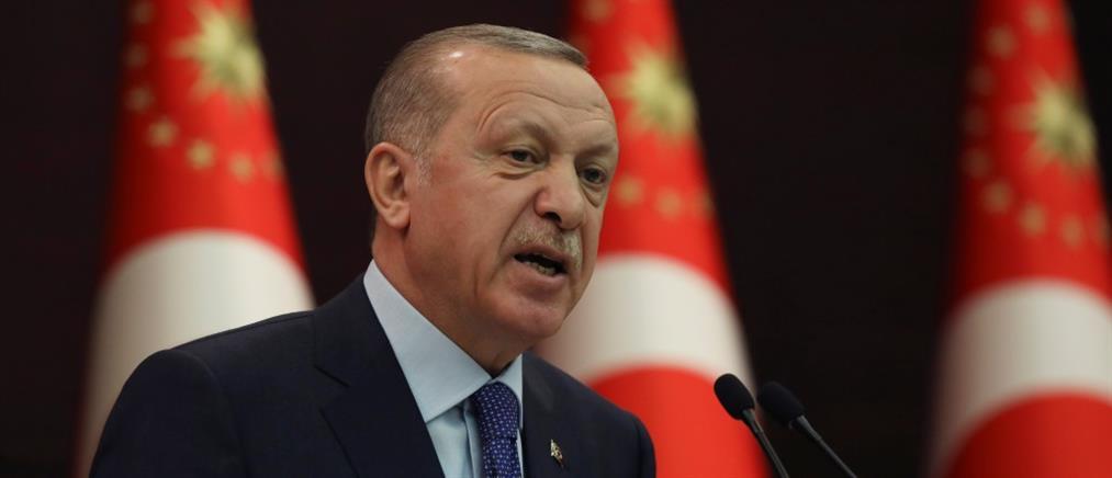 """""""Βρυχάται"""" πάλι ο Ερντογάν για Μεσόγειο, Αιγαίο και Κύπρο"""