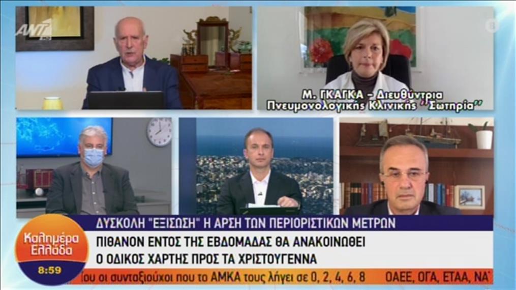 Η Μίνα Γκάγκα στην εκπομπή «Καλημέρα Ελλάδα»