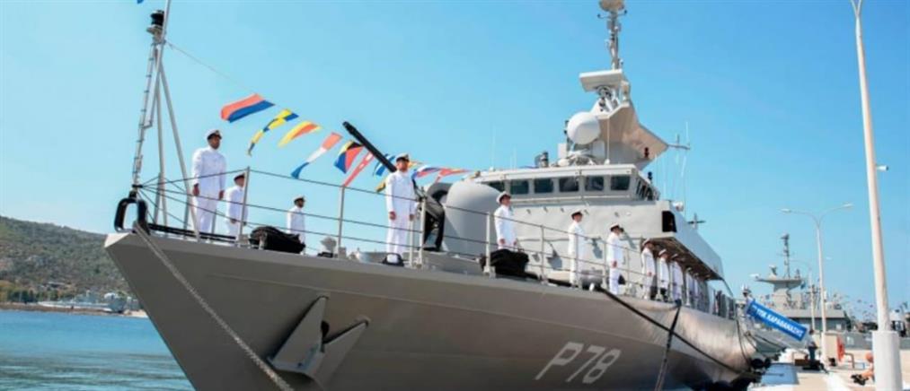 Παναγιωτόπουλος: Τα ονόματα των ηρώων στα Ίμια παίρνουν οι τρεις νέες πυραυλάκατοι