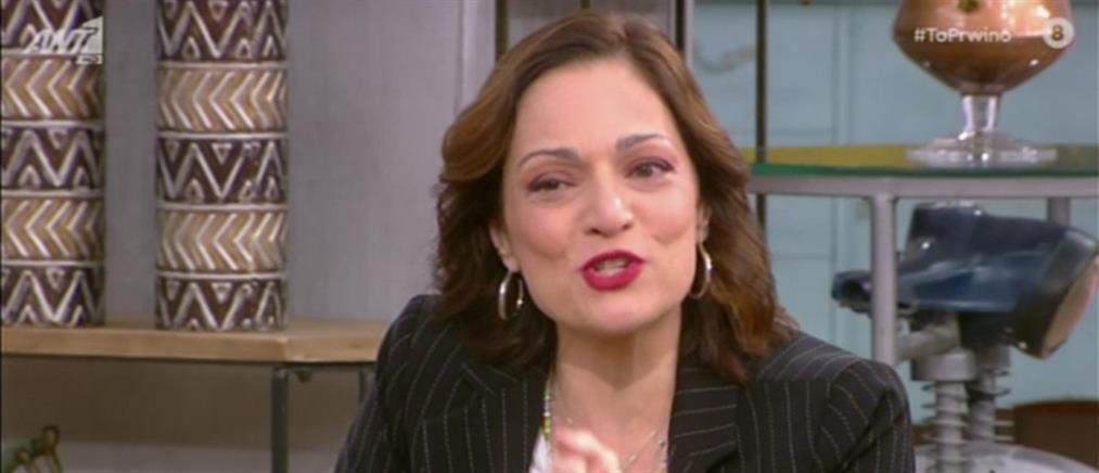 Ελένη Καρακάση: Με τρόμαξε η έκρηξη θυμού συναδέλφου (βίντεο)