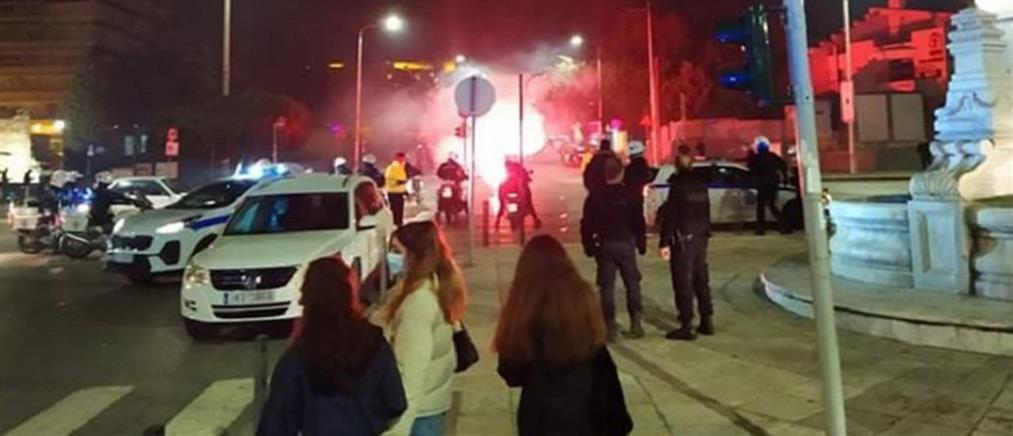 Θεσσαλονίκη: Επεισόδια με μολότοφ, χημικά και ζημιές (εικόνες)