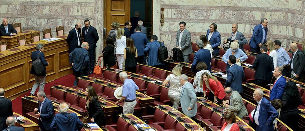 Παπαγγελόπουλος: αποχώρηση ΣΥΡΙΖΑ πριν την ψηφοφορία