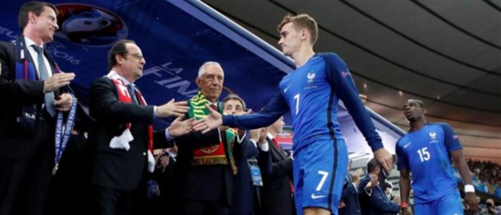 Ο Αντουάν Γκριζμάν κορυφαίος παίκτης του Euro 2016