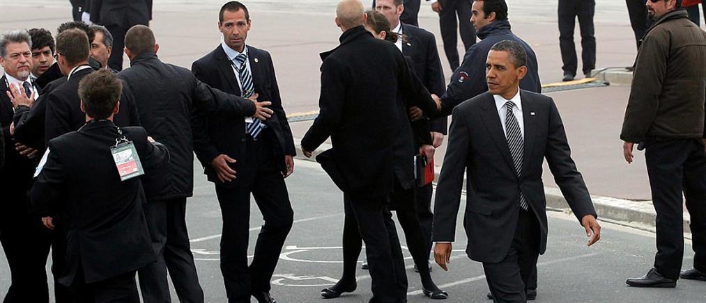 """Ελεύθεροι σκοπευτές, μίνι νοσοκομείο και το """"κτήνος"""" για την έλευση Ομπάμα"""