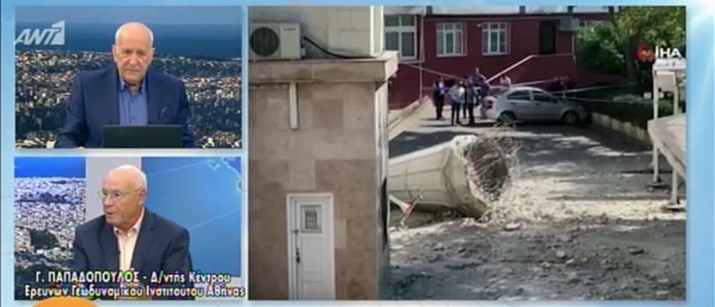 Παπαδόπουλος στον ΑΝΤ1: καμιά ανησυχία από τον σεισμό στην Τουρκία (βίντεο)