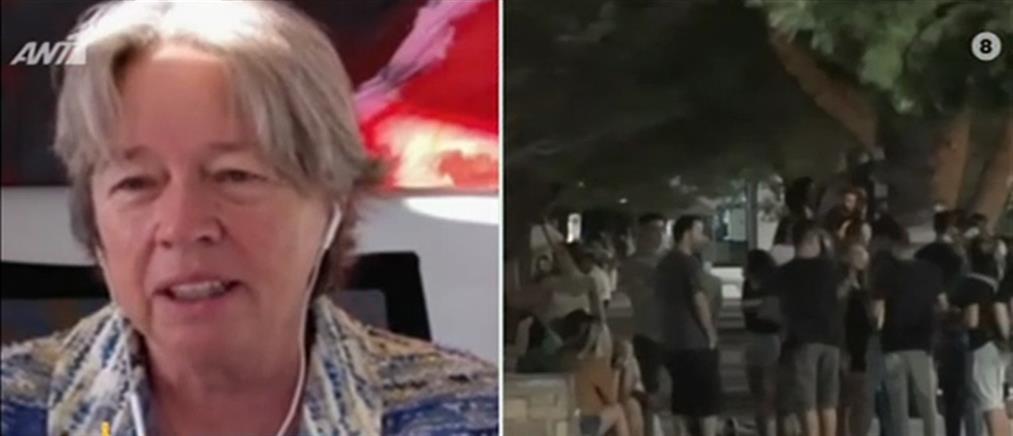 Λινού στον ΑΝΤ1: επιβεβλημένη η καθολική χρήση μάσκας (βίντεο)