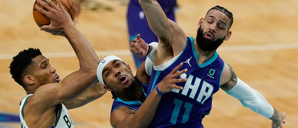 "NBA - Γιάννης Αντετοκούνμπο: μια ""ανάσα"" από το triple double"