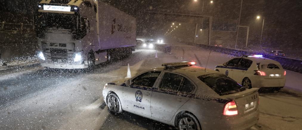 """Κακοκαιρία """"Μήδεια"""": δύσκολη νύχτα με χιόνια και παγετό (εικόνες)"""