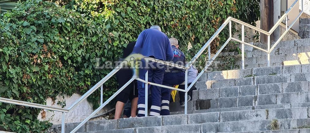 Λαμία: ληστής μαχαίρωσε ανήλικο μέρα - μεσημέρι (εικόνες)