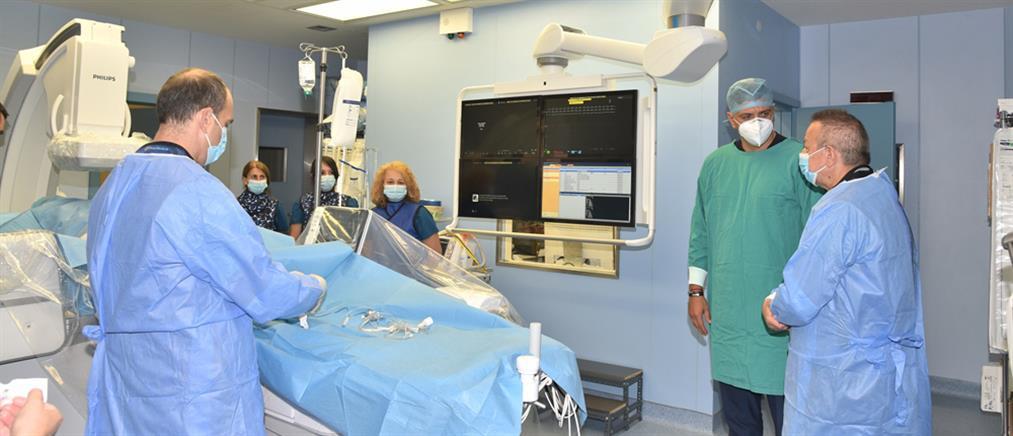 Νοσοκομείο Λαμίας - Κικίλιας: Εγκαίνια για το αιμοδυναμικό εργαστήριο (εικόνες)
