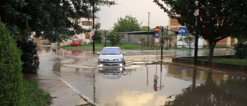 «Πνίγηκε» η Πελοπόννησος από την κακοκαιρία (Βίντεο)