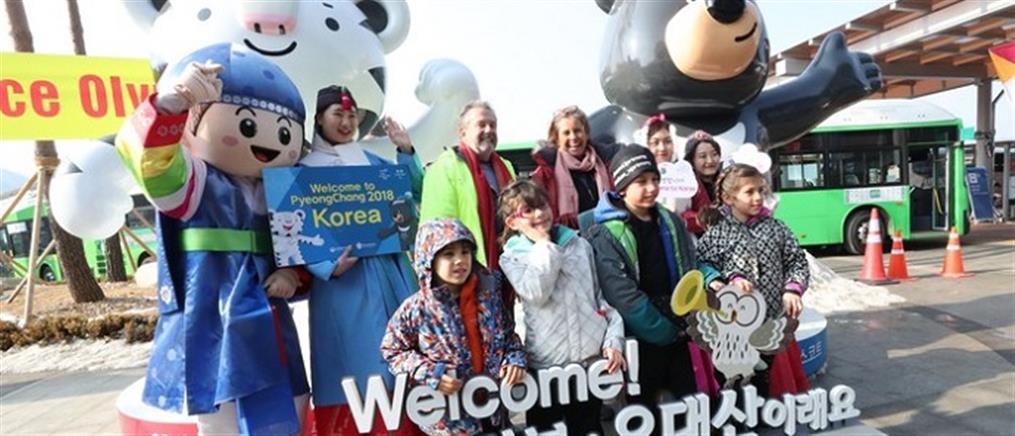 Αυλαία για τους 23ους Χειμερινούς Ολυμπιακούς Αγώνες