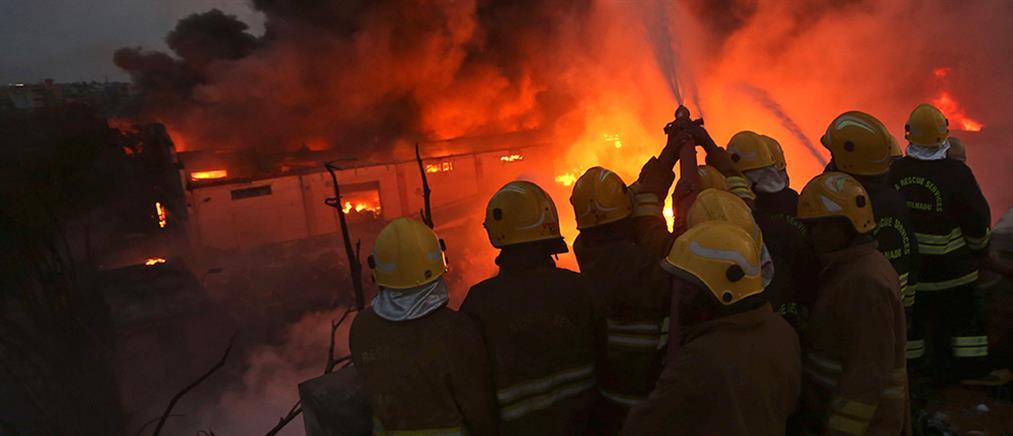 Ινδία: πολύνεκρη φωτιά σε εργοστάσιο χημικών