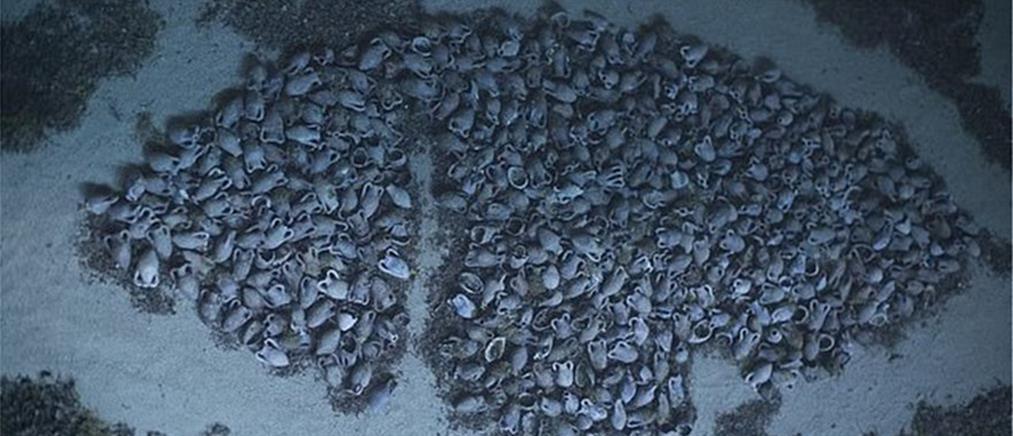 Εντυπωσιακό ρωμαϊκό ναυάγιο με χιλιάδες αμφορείς (εικόνες)