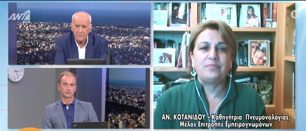 Κορονοϊός - Κοτανίδου στον ΑΝΤ1: στις καταλήψεις δεν τηρούνται τα μέτρα - μάσκα παντού (βίντεο)