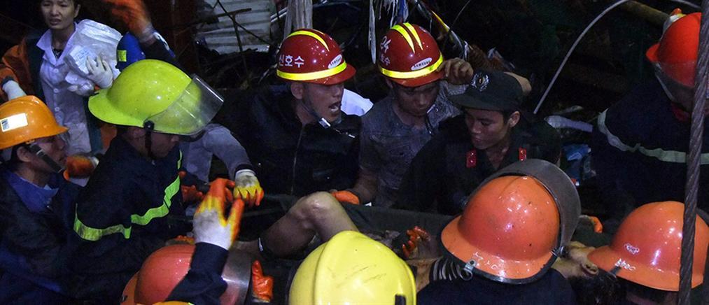 Σκαλωσιά κατέρρευσε και σκότωσε 14 εργάτες στο Βιετνάμ