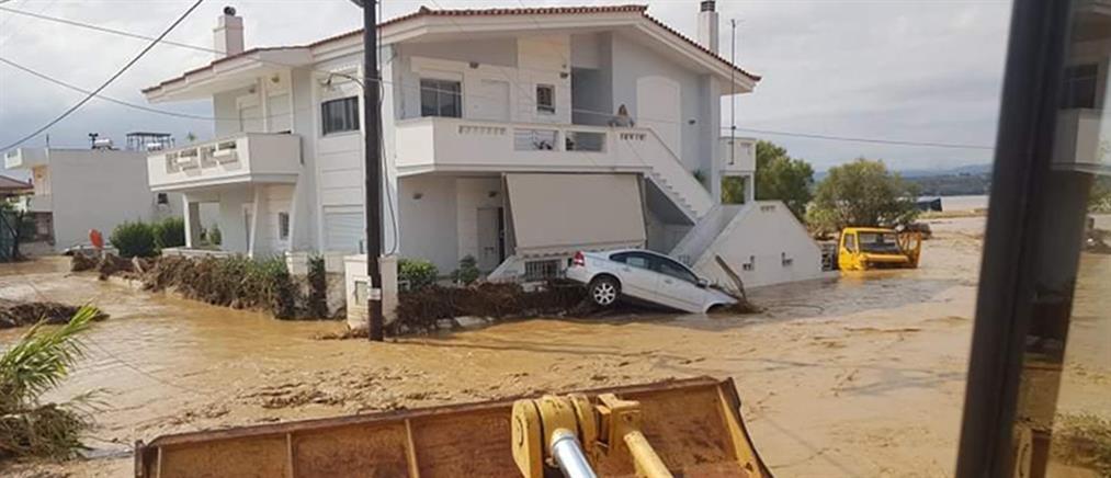 Πολιτική αντιπαράθεση μετά τις φονικές πλημμύρες στην Εύβοια