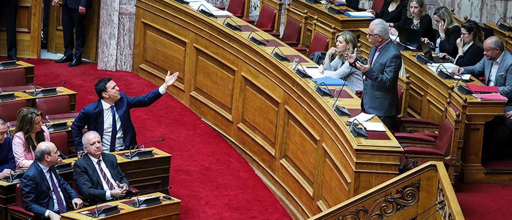 Ένταση στη Βουλή για το νομοσχέδιο του υπουργείου Παιδείας