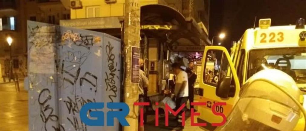 Θεσσαλονίκη: Ξεψύχησε στη στάση του λεωφορείου (εικόνες)