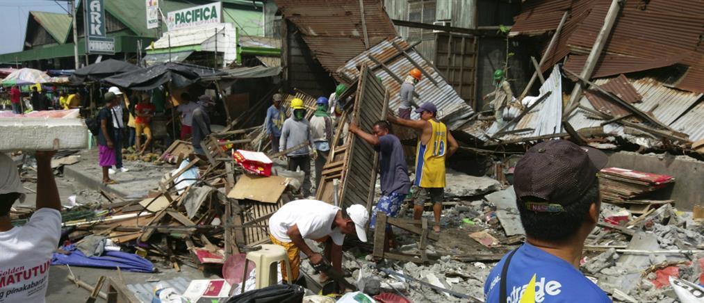 7 Ρίχτερ συγκλόνισαν τις Φιλιππίνες – προειδοποίηση για τσουνάμι