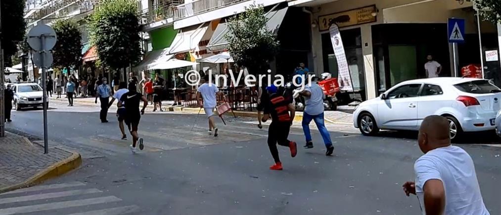 Βέροια: Ρομά μετέτρεψαν σε πεδίο μάχης το κέντρο της πόλης (βίντεο)