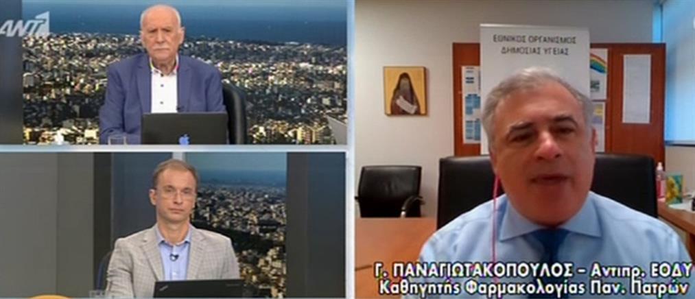 Παναγιωτακόπουλος στον ΑΝΤ1: πότε θα βγάλουμε τις μάσκες (βίντεο)