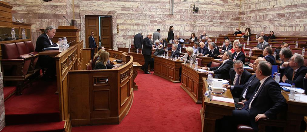 Σφοδρές αντιπαραθέσεις στη Βουλή για τη Συμφωνία των Πρεσπών