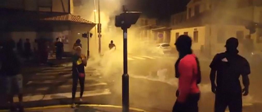 Επεισόδια στη Γαλλική Γουϊάνα για την επίσκεψη Μακρόν (βίντεο)