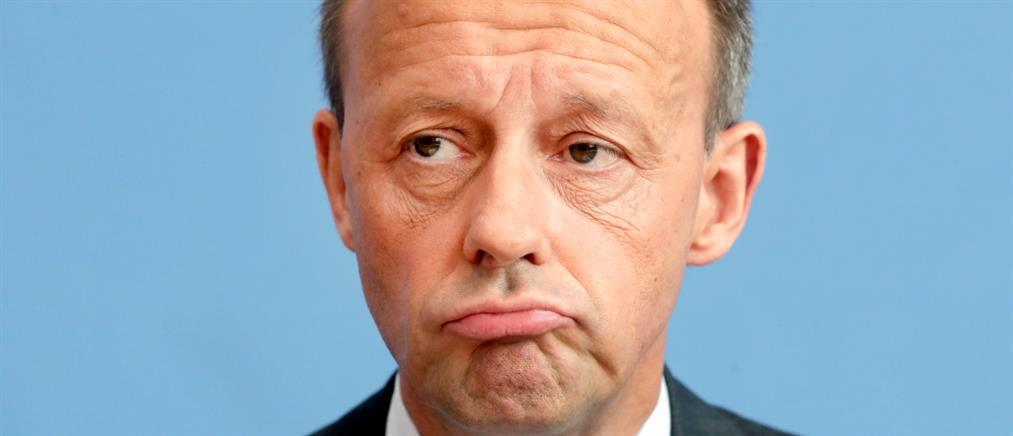 Εκατομμυριούχος ο υποψήφιος διάδοχος της Μέρκελ