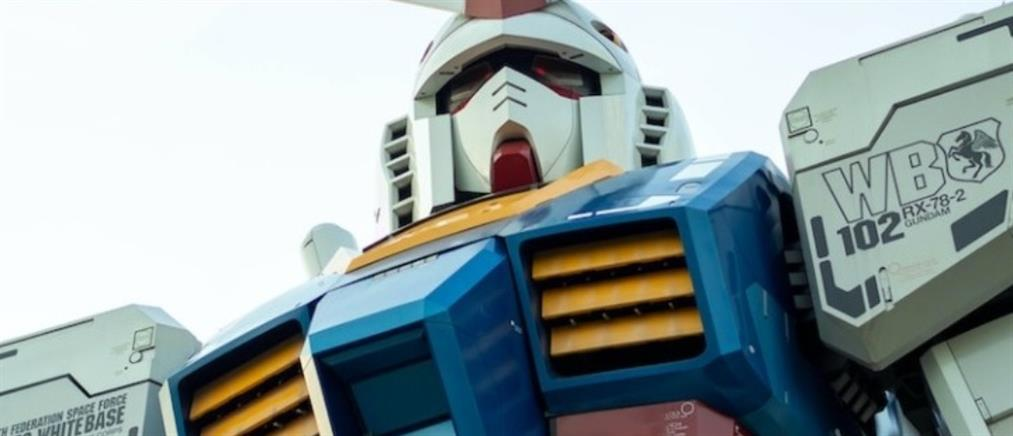 Guntam: ένα απίθανο ρομπότ (βίντεο)