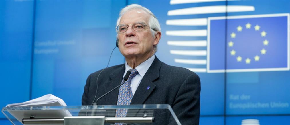 Μπορέλ: πρέπει να ολοκληρώσουμε τη δουλειά για τις κυρώσεις στην Τουρκία