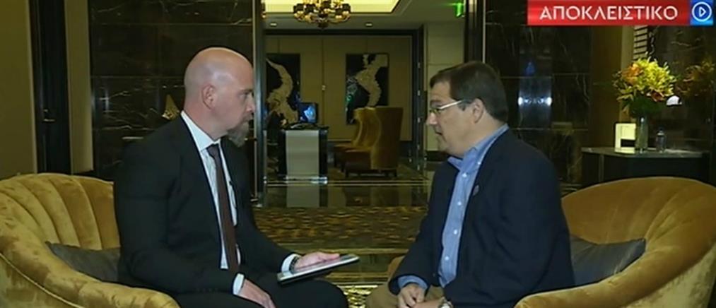 Γκας Μπιλιράκης στον ΑΝΤ1: να σκεφθούμε την αποβολή της Τουρκίας από το ΝΑΤΟ (βίντεο)