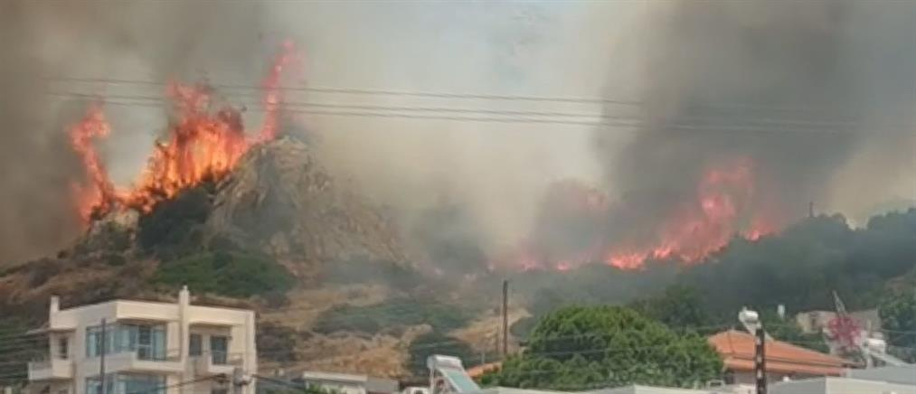 Μία σύλληψη για την φωτιά στο Λαγονήσι