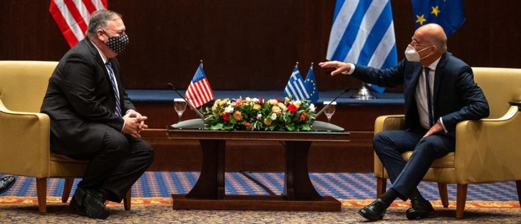 ΗΠΑ-Ελλάδα: Τα ζητήματα θαλασσίων ζωνών πρέπει να επιλύονται με βάση το διεθνές δίκαιο