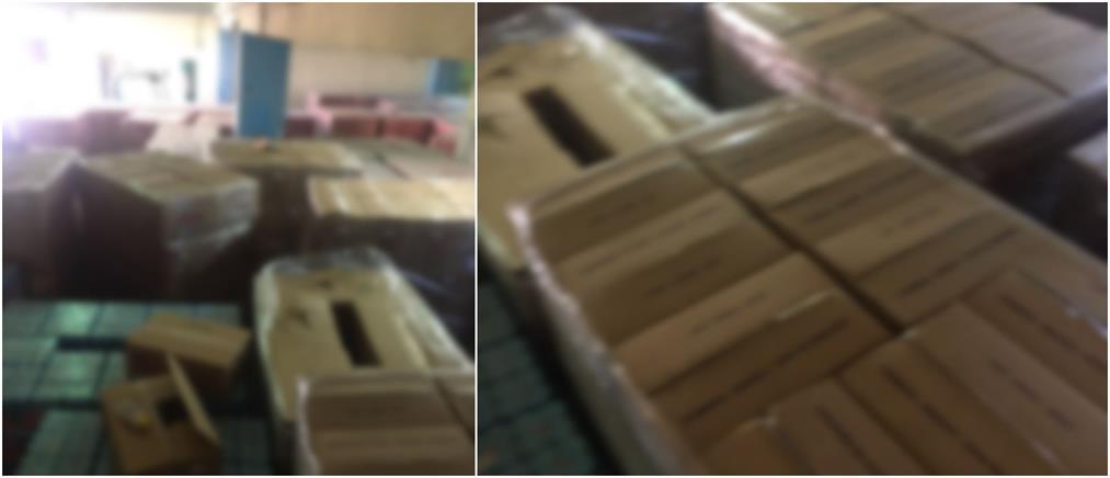 Κορονοϊός: κατασχέθηκαν περίπου 11000 λίτρα αντισηπτικού υγρού (βίντεο)