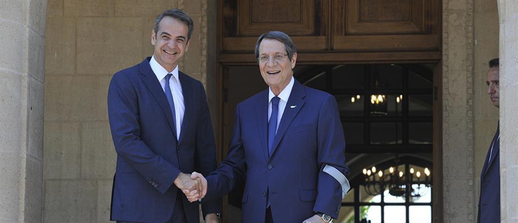 Μητσοτάκης: Ελλάδα και Κύπρος αντιμετωπίζουν πάντα ενωμένες τις προκλήσεις