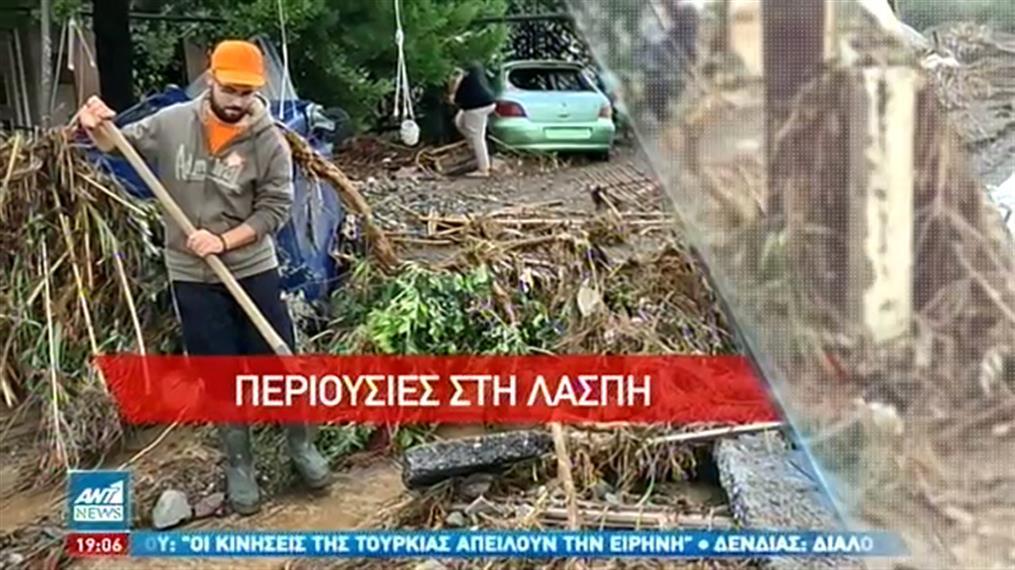 """""""Ιανός"""": Ανυπολόγιστες ζημιές σε Κεφαλονιά, Ιθάκη και Ζάκυνθο"""