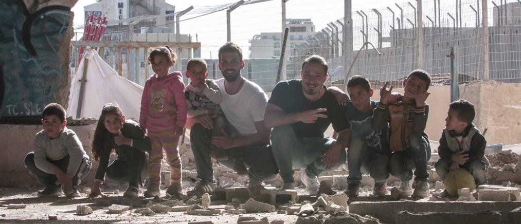"""Football Stories"": Μια ξεχωριστή εμπειρία στην Παλαιστίνη (εικόνες)"